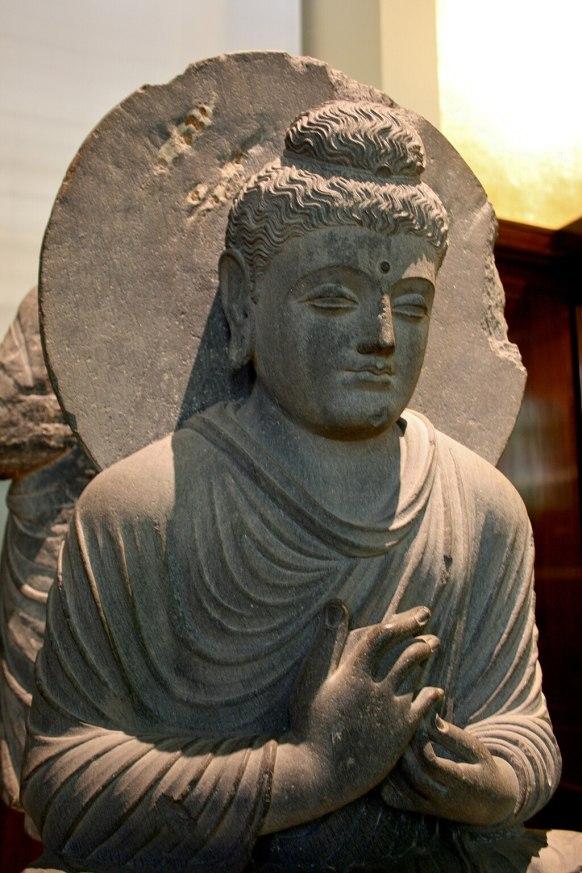 Seated Buddha, British Museum 1