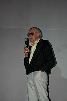 Una recente immagine di Stan Lee