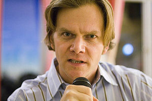 English: Taylor Mali at the international scho...