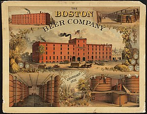 The Boston Beer Company, chartered 1828