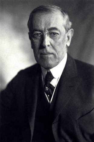 وودرو ويلسون: الرئيس الثامن والعشرين للولايات المتحدة من عام 1913 إلى 1921