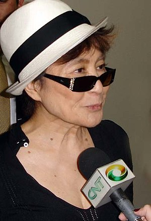 Yoko Ono at the Museum of Contemporary Art of ...