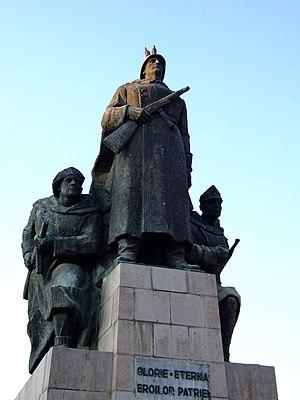 Monument in Arad, Romania help