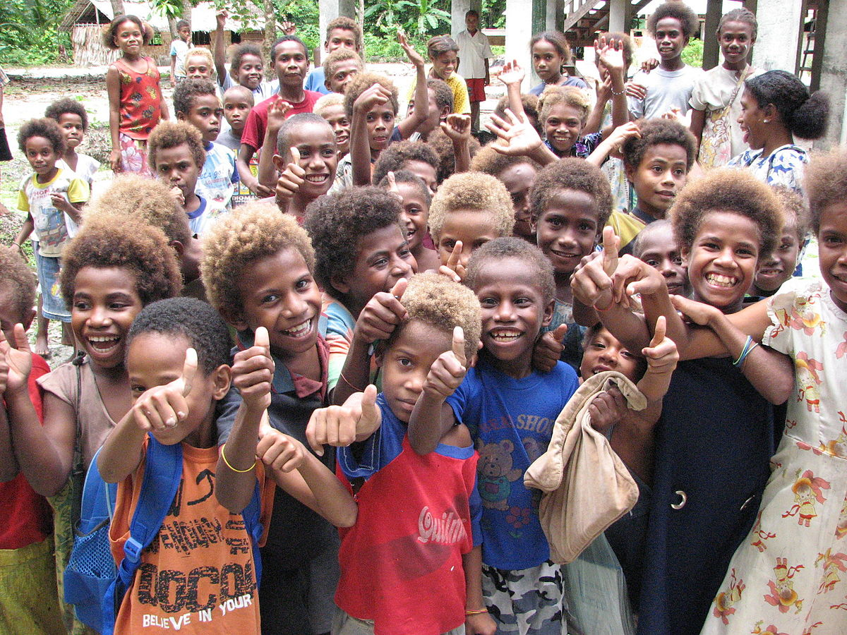 Are Melanesians Black