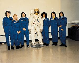 First Class of Female Astronauts - GPN-2004-00025
