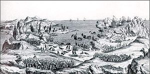 French attack St. John's Newfoundland 1762