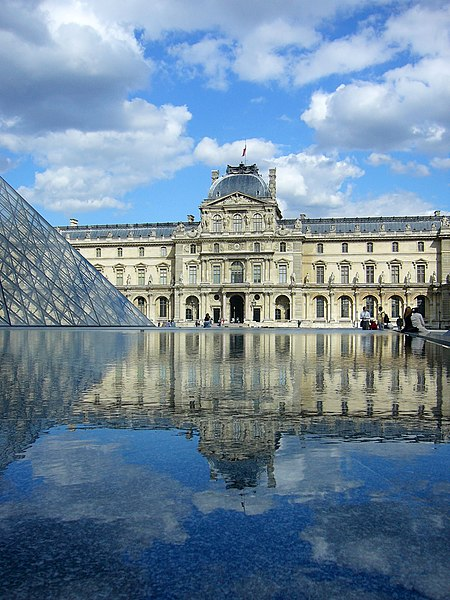 Louvre Museum in Daytime