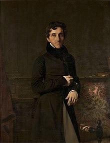 Mathieu, comte Molé, en 1834, par Ingres