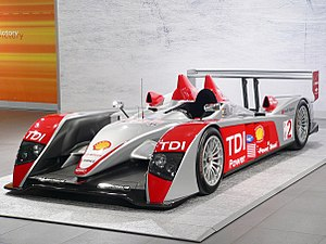"""Audi R10 TDI"" at the Exhibition of ..."