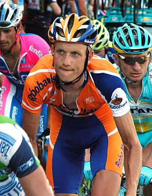 Pieter Weening at stage 7 of the Tour de Franc...