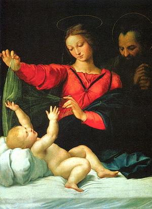 Madonna of Loreto or Madonna of the Veil