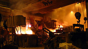 Town has a long tradition in steel production