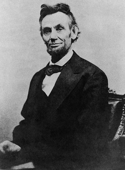 File:Abraham Lincoln half length seated, April 10, 1865.jpg