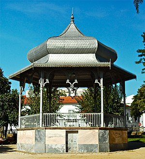 Bandstand in Montemor-o-Novo, Portugal.