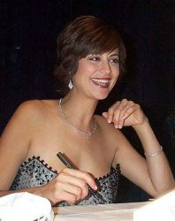 English: Catherine Bell, star of television's ...