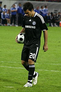 Deco   Wikipedia Deco taking a penalty kick for Chelsea in 2008