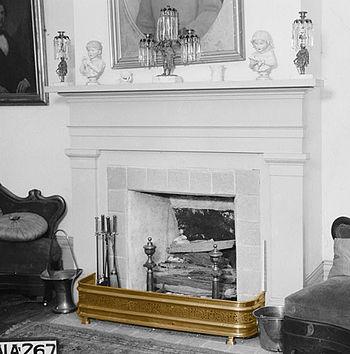 Fireplace fender