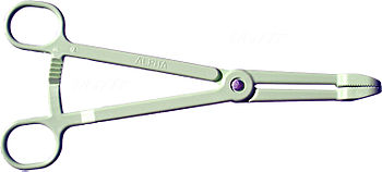 Plastic forceps are intended to be disposable.