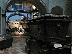 Kapuzinergruft, Wien, Sarkophag Franz I., Kais...