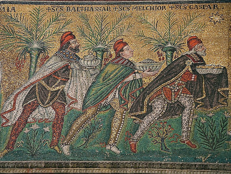 Trzej Królowie, San Apollinare Nuovo