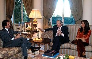 Néstor Kirchner y José María Aznar-Marid-Enero...