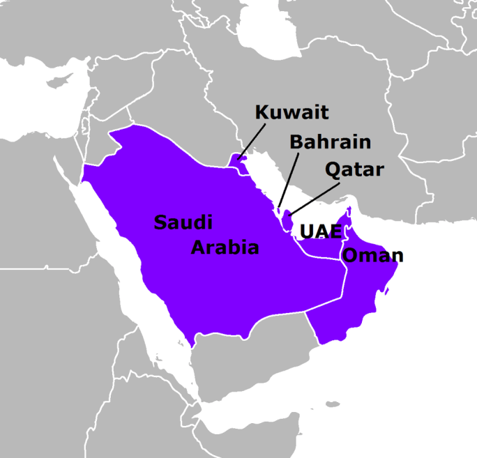Persian Gulf Arab States english
