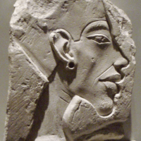 Portrait of Akhenaten - Unique and Revolutionary Egyptian Art