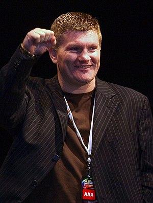 English boxer Ricky Hatton