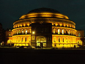 The Royal Albert Hall, London.