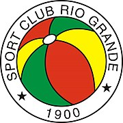 O Sport Club Rio Grande (RS). Fundado no dia 19 de Julho de 1900, o primeiro clube de Futebol do país, em atividades ininterruptas até hoje.