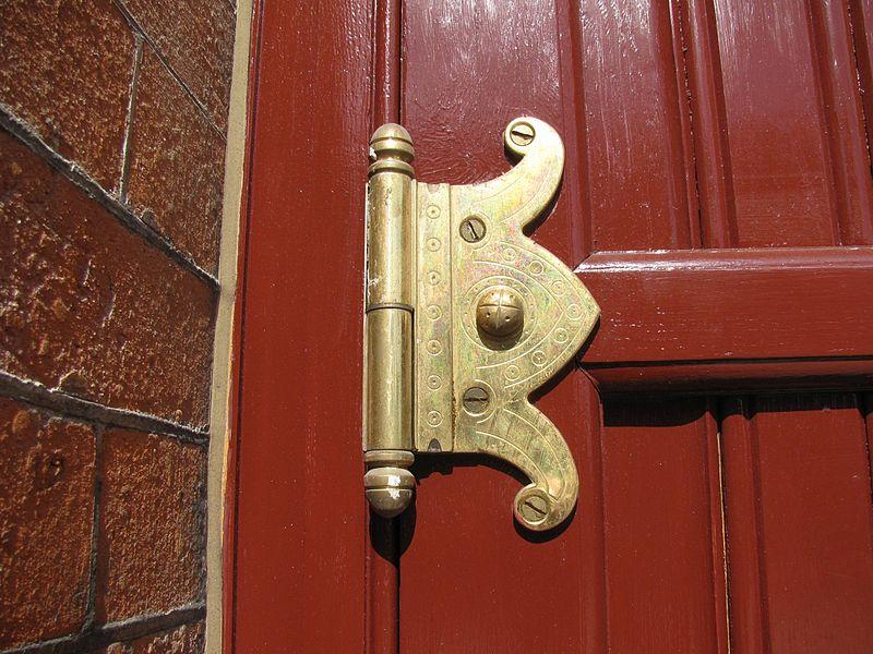 File:St. Pancras Station - Renaissance Hotel door hinge.jpg