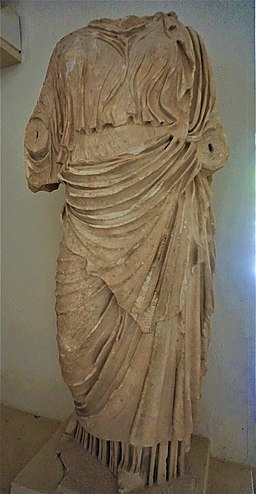 Statue of a Woman wearing a Chiton and a Himation - Archaeological Museum of Epidaurus by Joy of Museums