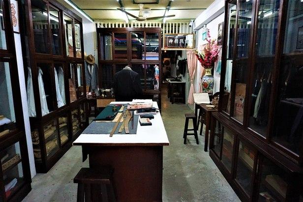 Tailor Shop - Chinatown Heritage Centre, Singapore