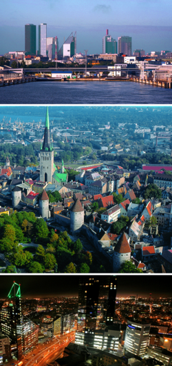 Hình nền trời của Tallinn