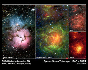 Views of the Trifid Nebula (Messier 20)
