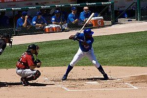 English: Alfonso Soriano of the Chicago Cubs -...