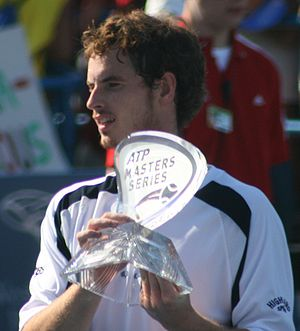 Andy Murray of Great Britain wins the Cincinna...