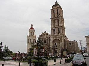 English: Cathedral of Saltillo Coahuila Españo...