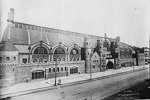 Coliseum building, Chicago. Exterior view.