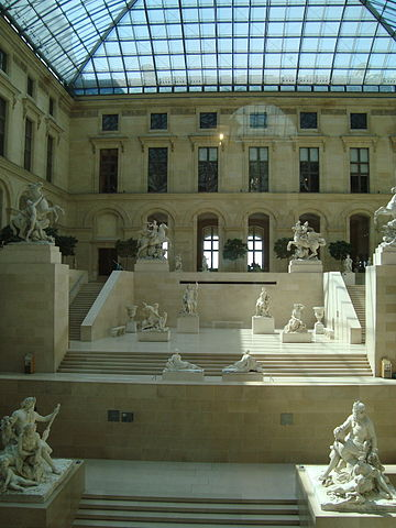 Louvre, Cour Marly