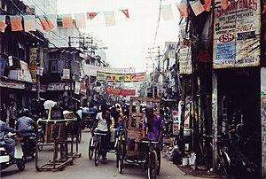 Street in Old Delhi, Delhi, India