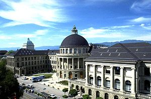 English: Main building of the Swiss Institute ...