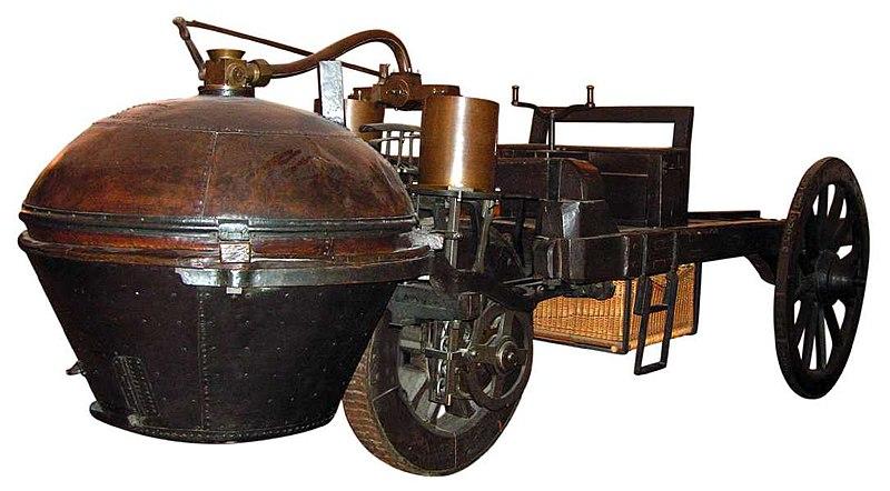 Este trabajo es un pequeño aporte para aquellos que deseen conocer la historia del automóvil hasta nuestros días. Es arduo sintetizar en una página la historia del automóvil. El primer paso fueron los vehículos propulsados a vapor. Se cree que los intentos iniciales de producirlos se llevaron a cabo en China, a fines del siglo XVII, pero los registros documentales más antiguos sobre el uso de esta fuerza motriz datan de 1769, cuando el escritor e inventor francés Nicholas-Joseph Cugnot presentó el primer vehículo propulsado a vapor. Era un triciclo de unas 4,5 toneladas, con ruedas de madera y llantas de hierro, cuyo motor estaba montado sobre los cigüeñales de las ruedas de un carro para transportar cañones. Su prototipo se estrelló y una segunda máquina quedó destruida en 1771, pero la idea sería retomada y desarrollada en Inglaterra en los años siguientes.