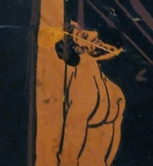 Odysseus tied on the mast. Icon for the Greek ...