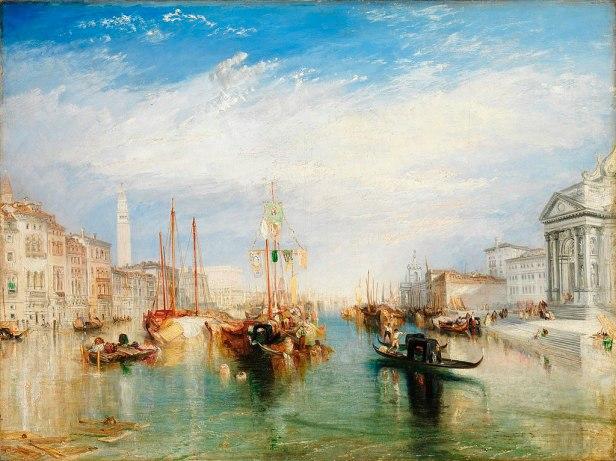 Joseph Mallord William Turner - The Grand Canal, Venice