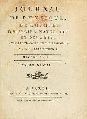 Journal Delamétherie