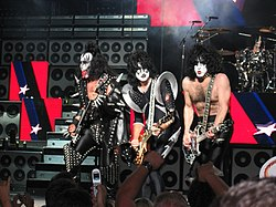 Gene Simmons, Tommy Thayer, Paul Stanley and Eric Singer