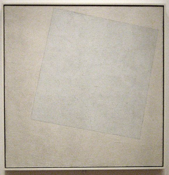 Fichier:Kazimir Malevich - 'Suprematist Composition- White on White', oil on canvas, 1918, Museum of Modern Art.jpg