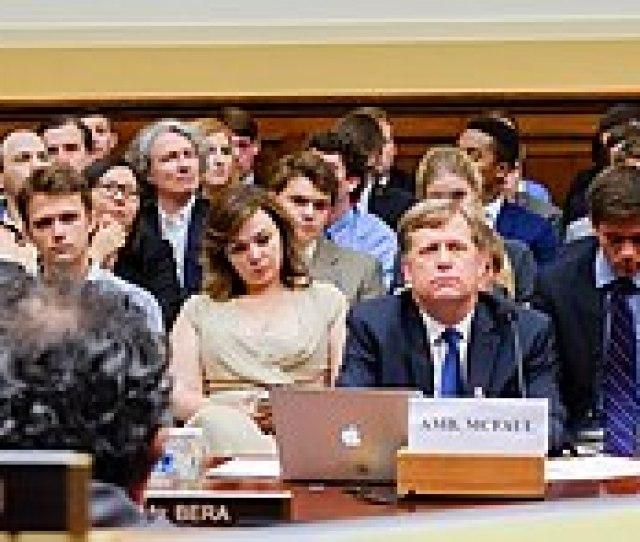 A House Foreign Affairs Committee Hearing On U S Policy Toward Putins Russia On June   Mcfaul Testified As Russian Lawyer Natalia Veselnitskaya