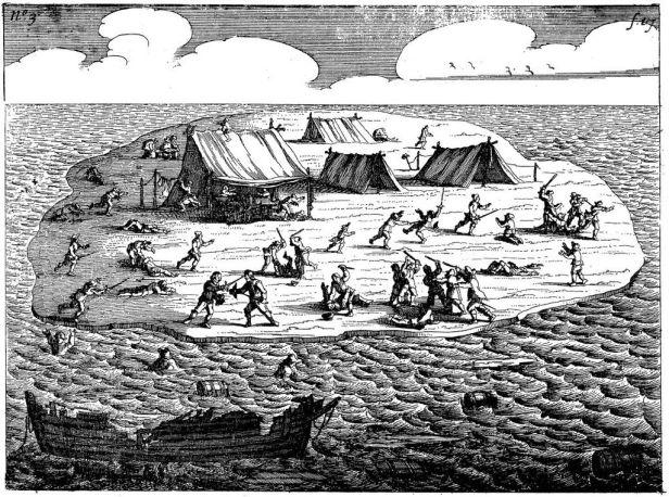 Ongeluckige voyagie vant schip Batavia (Plate 3)